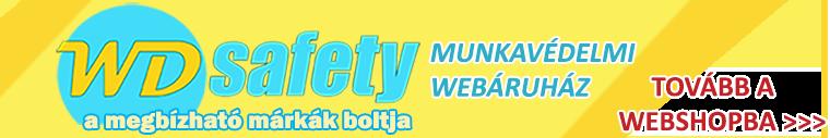 TOVÁBB A WD SAFETY WEBÁRUHÁZBA >>>